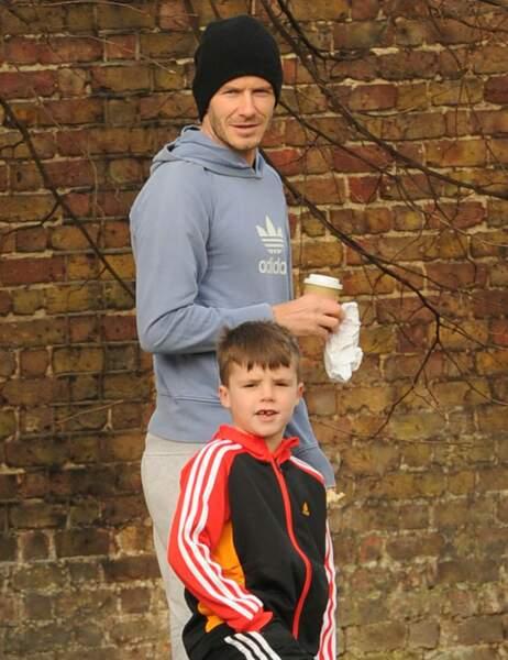 David et Cruz Beckham