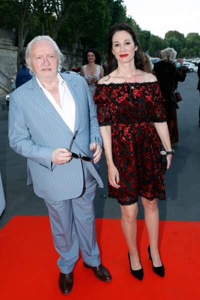 Niels Arestrup et Isabelle Le Nouvel ont, eux aussi, participé à la soirée d'anniversaire de Line Renaud
