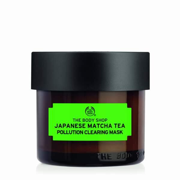 Masque Matcha Anti Pollution, The Body Shop, 20 euros