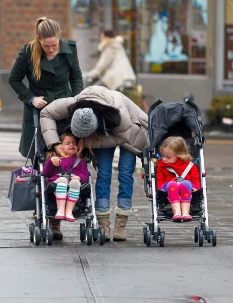 Sarah Jessica Parker et ses filles Marion et Tabitha