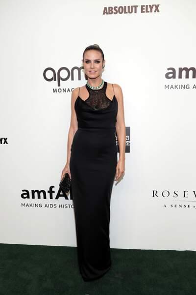 Do Heidi Klum et sa robe noire