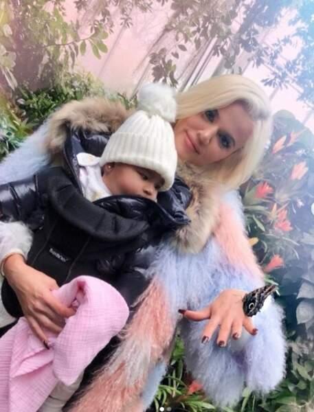 Khloe Kardashian et sa fille True