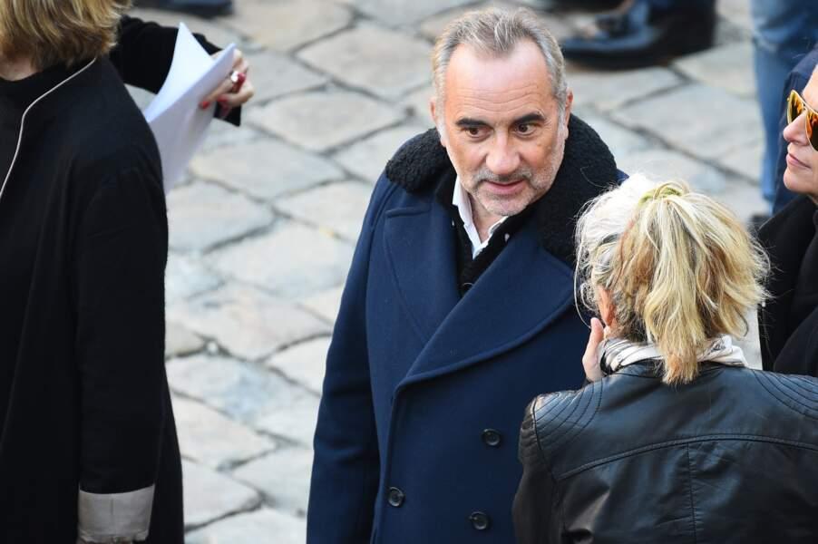 Antoine Duléry à l'hommage national à Charles Aznavour