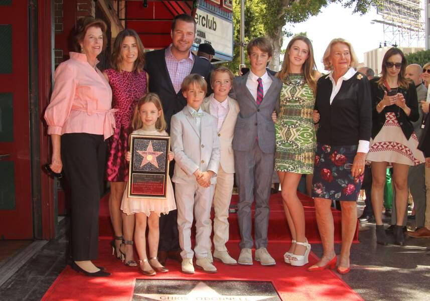 Chris O'Donnell est papa de 5 enfants, avec sa femme Caroline Fentress