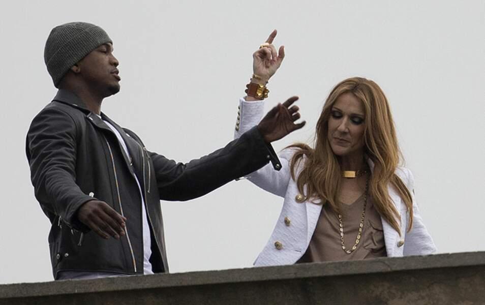 Céline et Ne-Yo s'éclatent sur les toits de Los Angeles