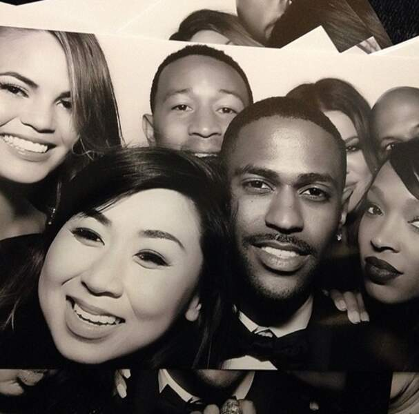 John Legend, Chrissy Teigen, le rappeur Big Sean...