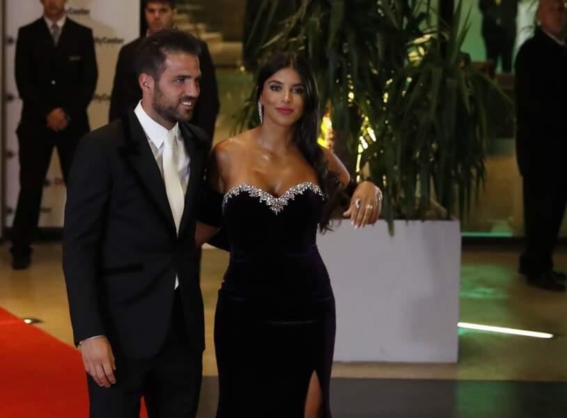 Cesc Fabregas et sa femme Daniella Semaan