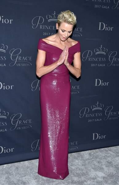 Princess Grace Awards : Charlène de Monaco