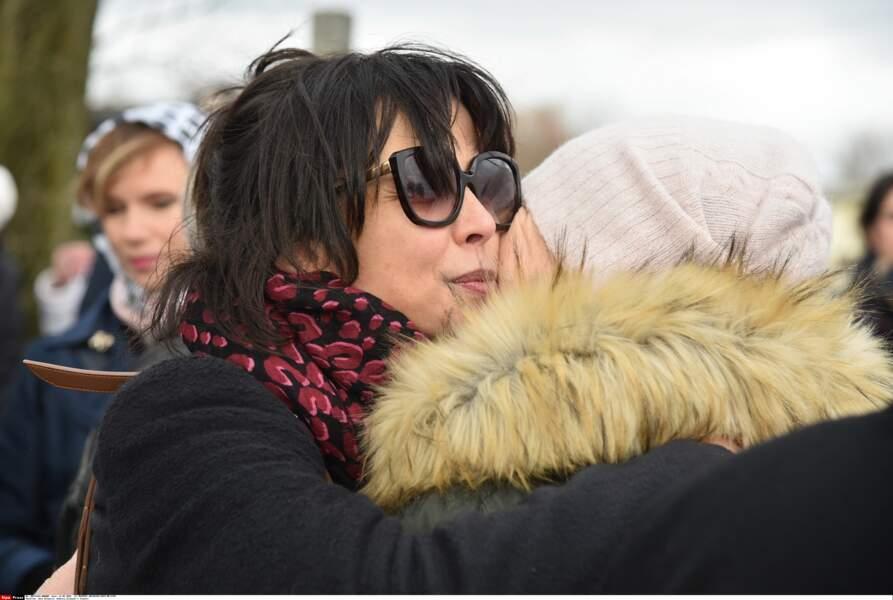 De nombreux proches étaient venus rendre hommage à Andrzej Zulawski et soutenir Sophie Marceau