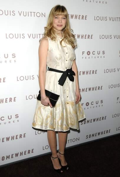 Cheveux : 10 façons de porter la frange - Lea Seydoux