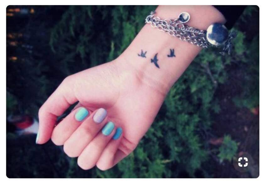 Les plus beaux tatouages d'oiseaux repérés sur Pinterest