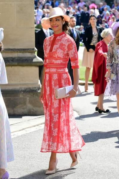 Gina Torres de Suits au mariage d'Harry et Meghan