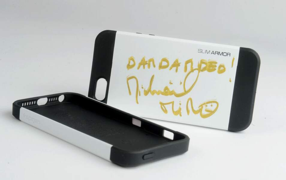 La coque pour iPhone 5 personnalisée par Michaël Miro