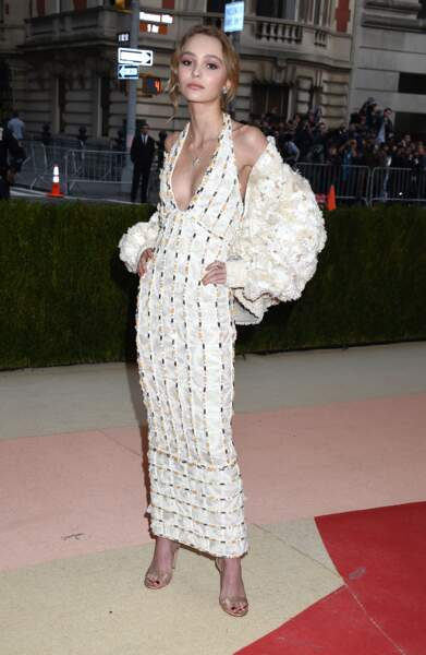 Lily-Rose Depp en Chanel Haute Couture