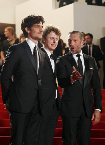Louis Garrel, Norman et Vincent Cassel