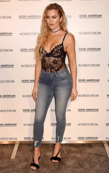Khloé Kardashian prête pour l'evjf de sa BFF