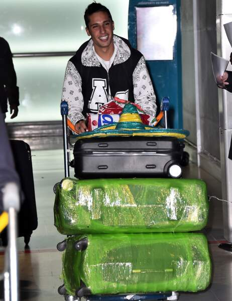 Eddy et ses nombreux bagages
