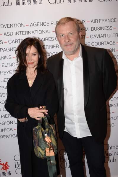 Evelyne Bouix au Pavillon Gabriel à Paris le 8 mars 2019