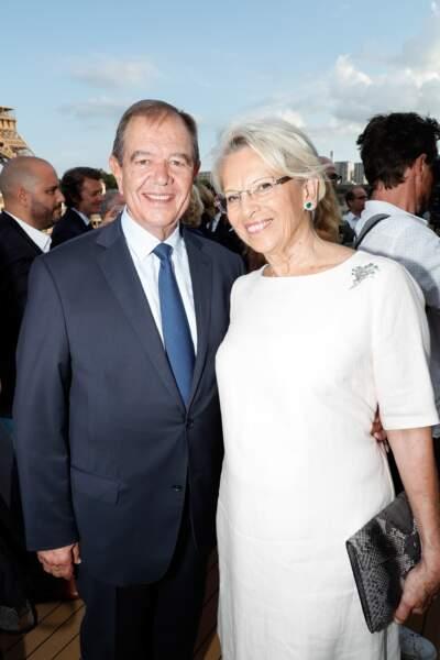 Michele Alliot-Marie était de la partie avec son mari Patrick Ollier
