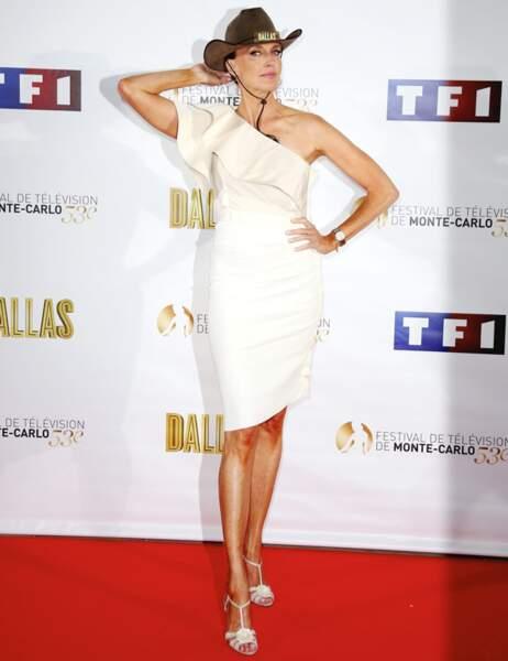 Brenda Strong avec son stetson