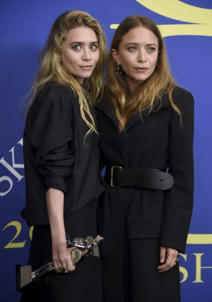 Mary-Kate et Ashley Olsen aux CFDA Fashion Awards 2018