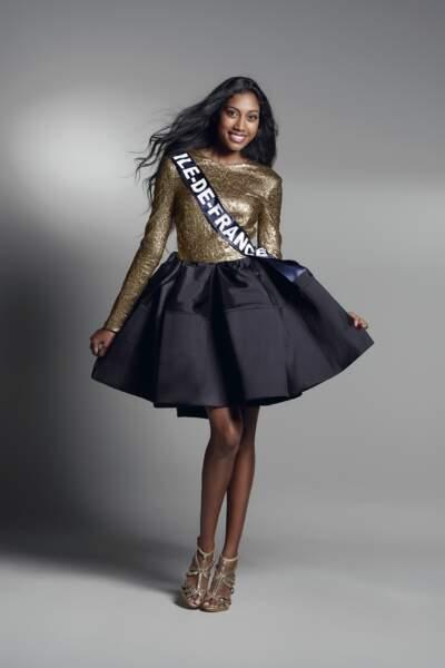 Miss Ile-de-France : Meggy Pyaneeandee – 22 ans