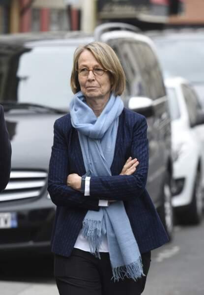 Françoise Nyssen, à l'hommage à Jacques Higelin au Cirque d'Hiver à Paris, le 12 avril