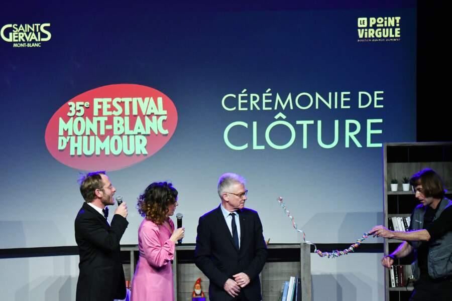 Clôture du 35ème festival Mont-Blanc Humour