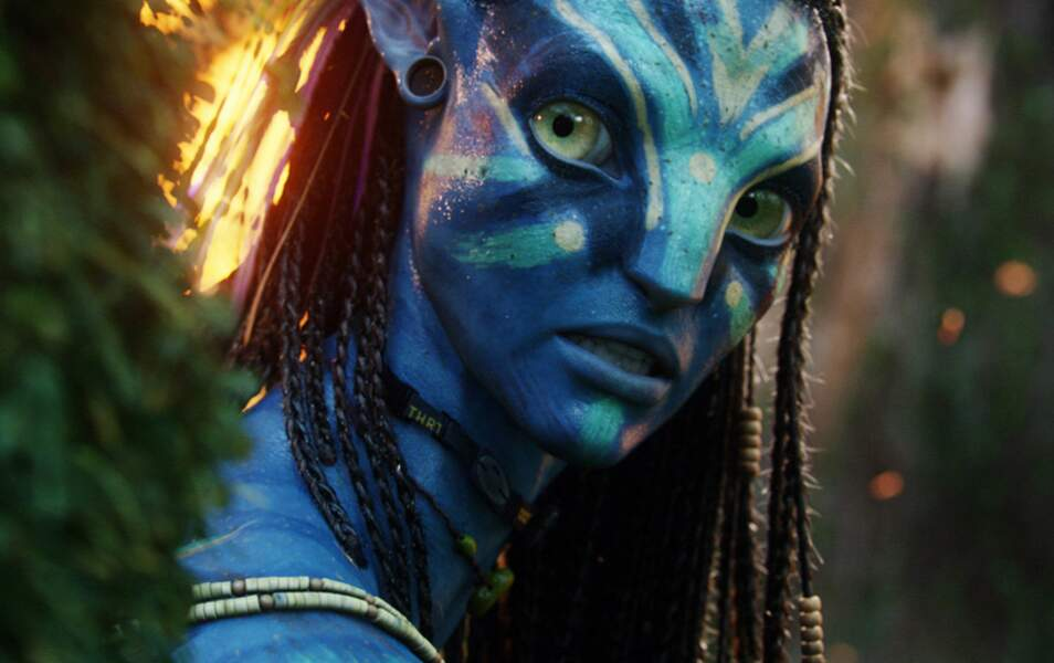 "Neytiri dans ""Avatar"" est..."