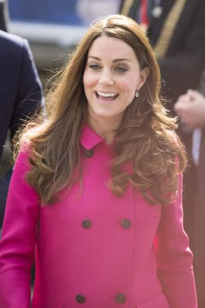 Kate Middleton radieuse