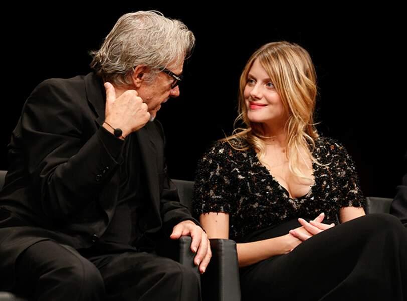 Harvey Keitel et Mélanie Laurent