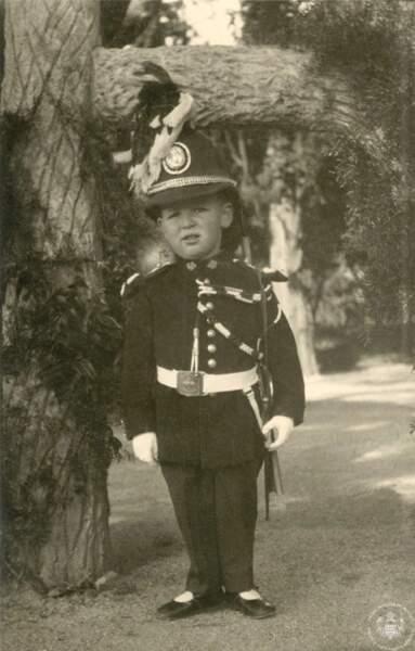 Le prince Rainier en 1925