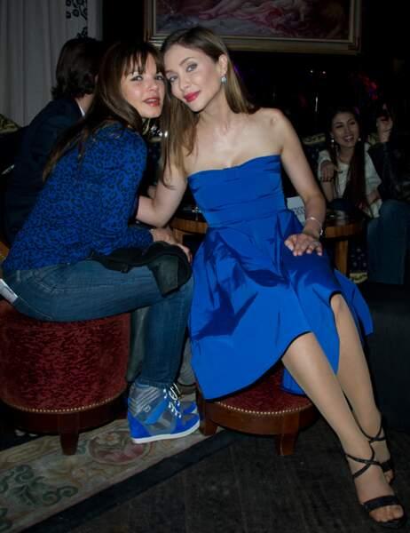 Séverine Ferrer et Isabella Orsini