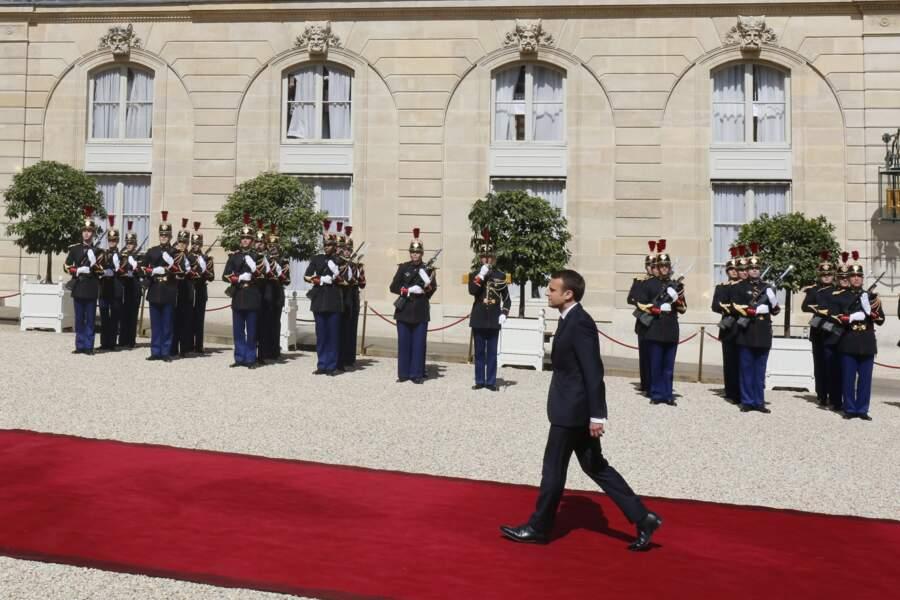 L'arrivée d'Emmanuel Macron