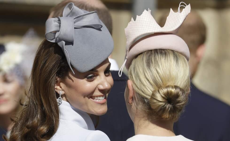Kate Middleton a affiché un sourire radieux tout au long de la cérémonie