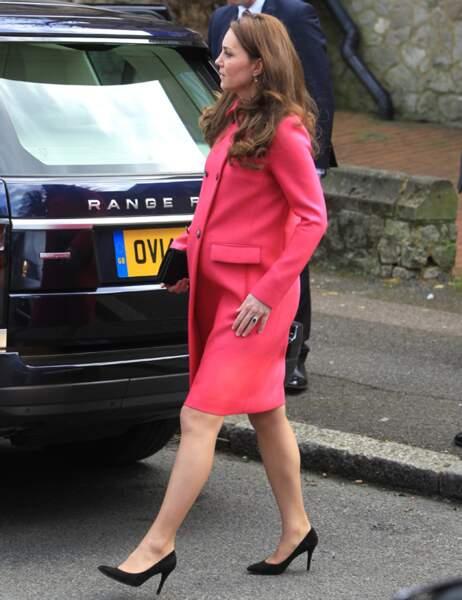 Un début de grossesse également marqué par de graves crises de nausées pour Kate