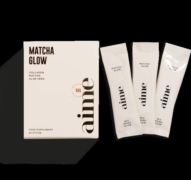 Notre Top 5 des boissons pour passer l'hiver : Matcha Glow en poudre, Aime, disponible à partir de février 2019