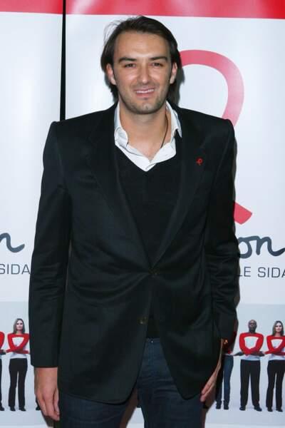 Cyril Lignac en 2008, on commence a sentir le changement de style