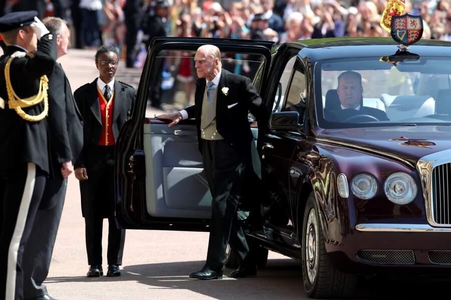 La première apparition officielle du prince Philip depuis l'été 2017