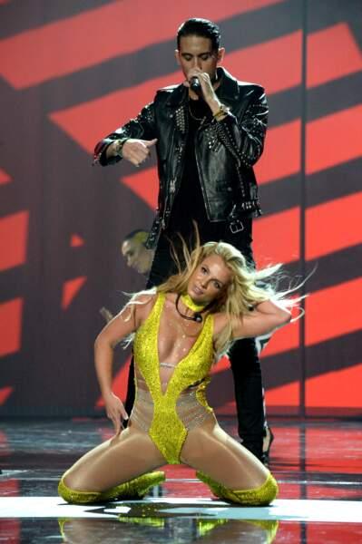Britney Spears sur scène