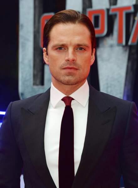 Avant-première de Captain America: Civil War - Sebastian Stan alias Le soldat de l'hiver