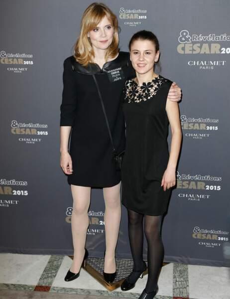 Isabelle Carré et Arianne Rivoire
