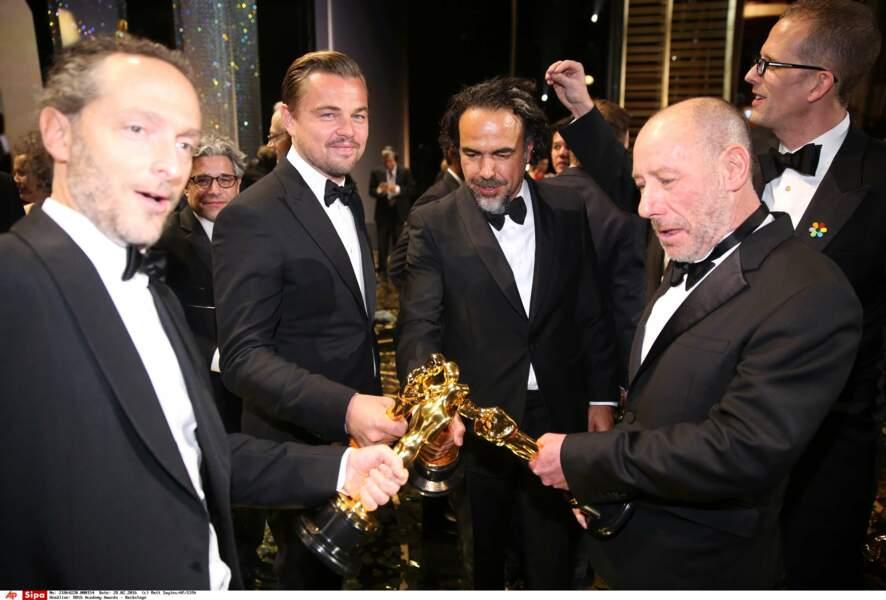 Battle d'Oscars avec Leonardo DiCaprio en coulisses « C'est moi qui ai le plus grooooos »