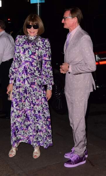 Anna Wintour au mariage de Marc Jacobs