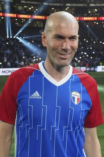 Zinédine Zidane retrouve les sommet avec sa 6e position