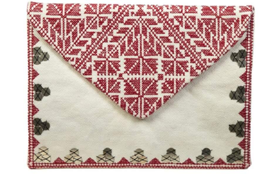 "BA&SHLa pochette ""Cambric"" : 76€"
