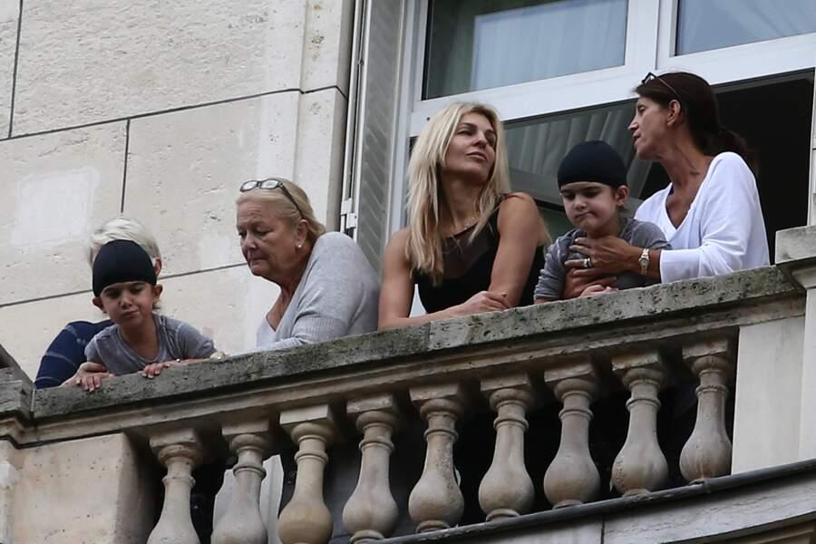 Eddy et Nelson ont suivi Céline Dion à Paris en 2016 pour sa tournée