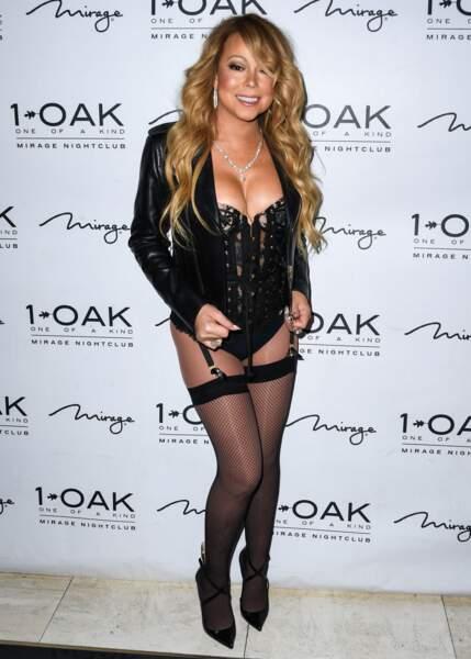 Dis donc Mariah, tu n'aurais pas oublié le bas ?