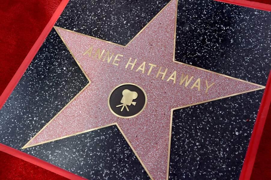 L'étoile d'Anne Hathaway