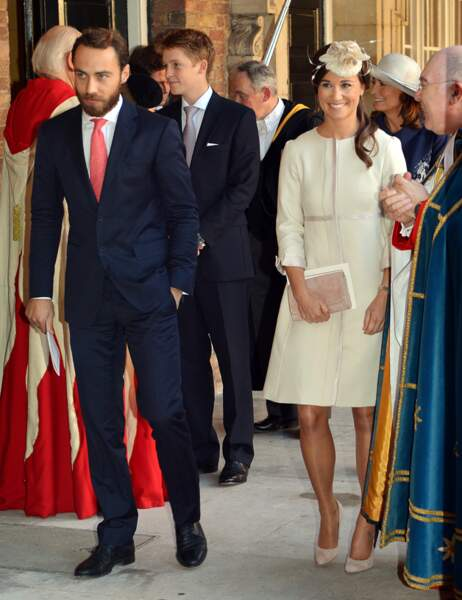 James et Pippa, les oncle et tante du prince George